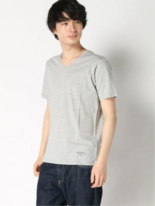 ナノ・ユニバース(nano・universe) スーピマコットンVネックTシャツ