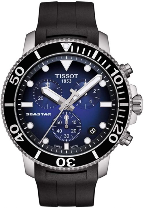 ティソ(TISSOT) シースター 1000 クロノグラフ T120.417.17.041.00