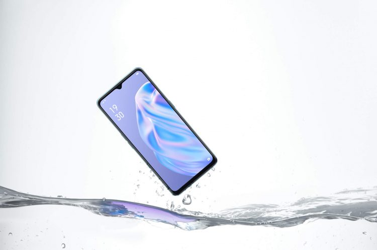 防水スマートフォンのイメージ