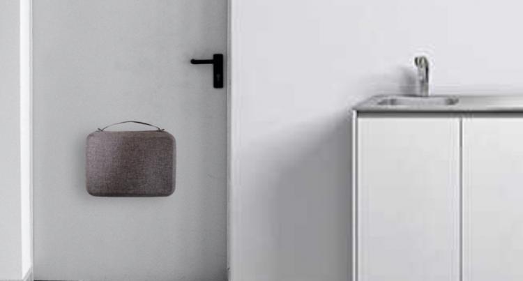 玄関のドアに設置できる!一人暮らし向け防災キット「Home Tool-Box Type」