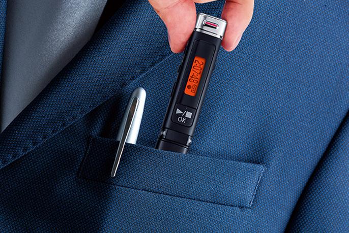 小型ボイスレコーダーおすすめ23選。ペンやUSB型で小さくても高性能