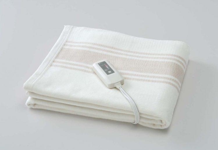 電気毛布のおすすめ14選。人気メーカーのアイテムをピックアップ