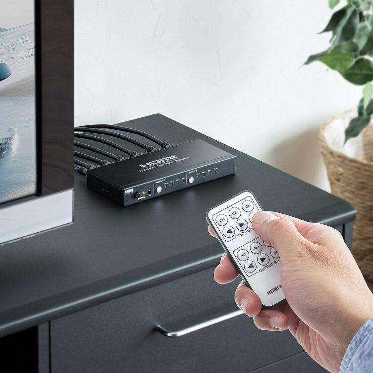 HDMI分配器のおすすめ18選。4K出力に対応したモデルもご紹介