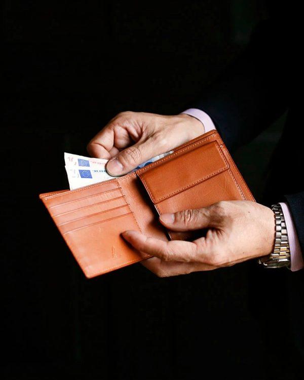 二つ折り財布のイメージ
