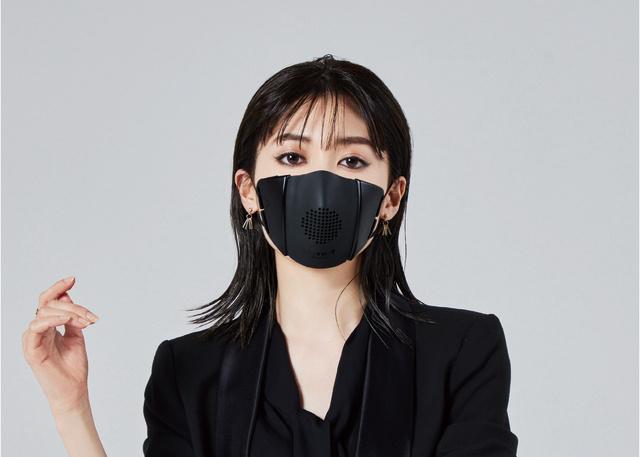 コロナ禍の対面コミュニケーションに革命!スマホと繋がる高機能マスク「C-FACE」