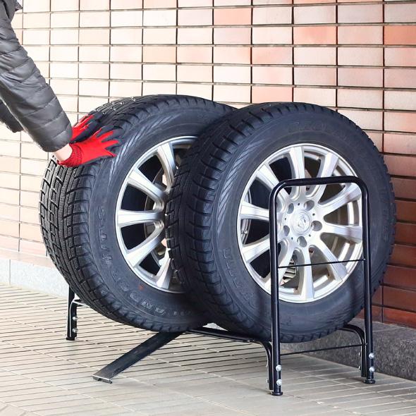 タイヤラックのおすすめ13選。省スペース性に優れたモノもご紹介