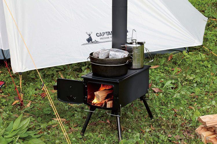 アウトドア向けストーブのおすすめ26選。凍える冬キャンプの必需品