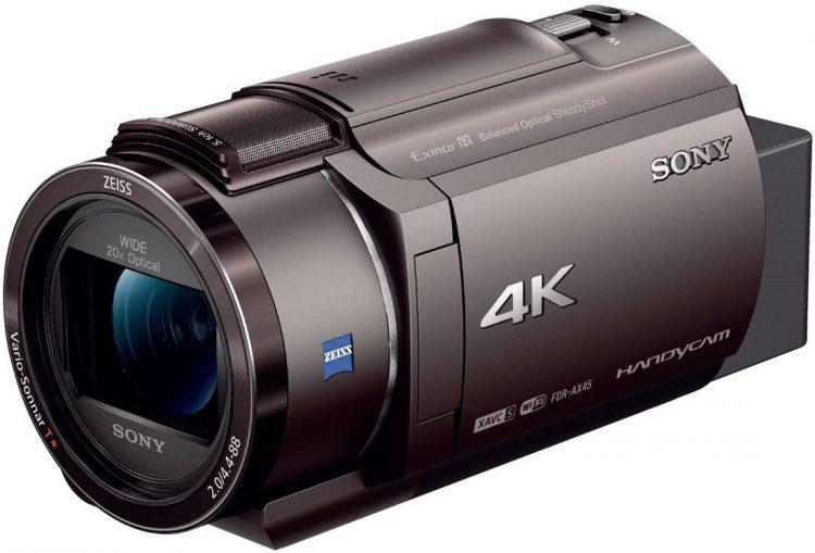 【2021年版】4Kビデオカメラのおすすめ12選。ハンディ・アクションカメラに分けてご紹介