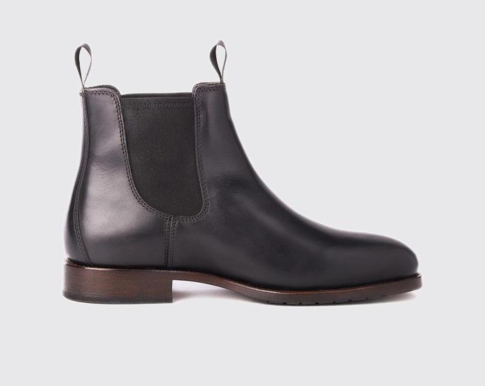 雨の日でも気兼ねなく履ける!防水性に優れた本革サイドゴアブーツ「Kerry」