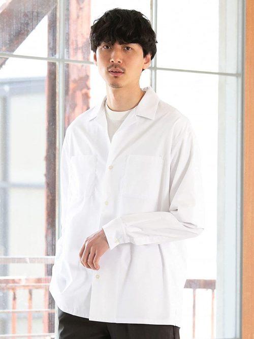 インナー 開襟 シャツ トレンドの着こなしはこれ!開襟シャツを使ったおすすめコーデ10選