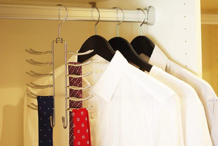 ネクタイハンガーのおすすめ17選。ネクタイをきれいに収納できるアイテム