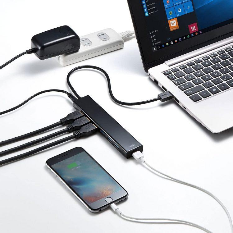 USBハブのおすすめ26選。ポート不足もスッキリ解消