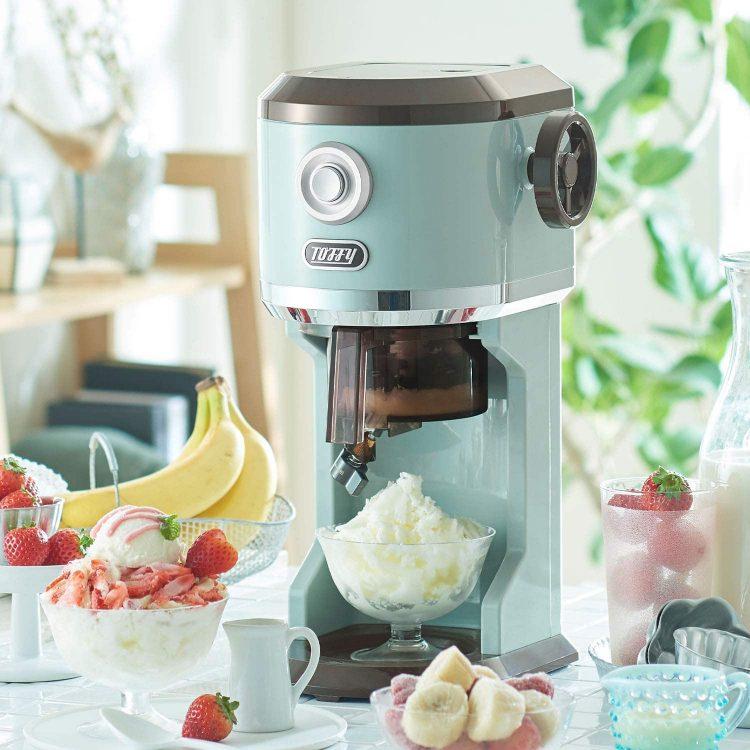 【2021年版】家庭用かき氷機のおすすめランキング14選。自宅でふわふわ食感を楽しもう