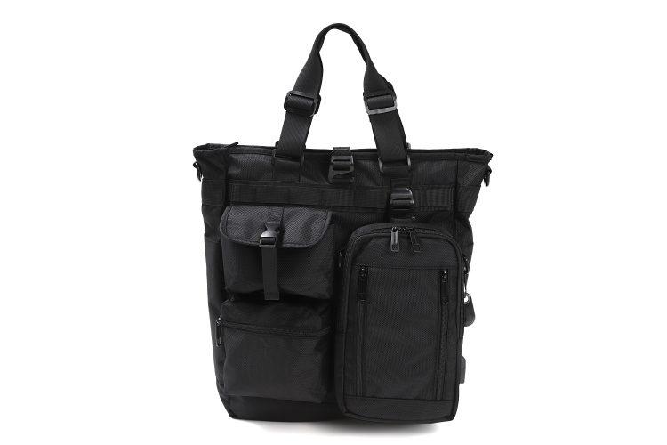 忘れ物をなくそう!貴重品の入れ替えが不要な8WAY対応「インテグレートバッグ」