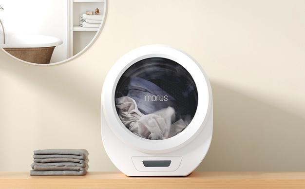 毎日の衣服に困らない!超小型衣類乾燥機「Morus Zero」