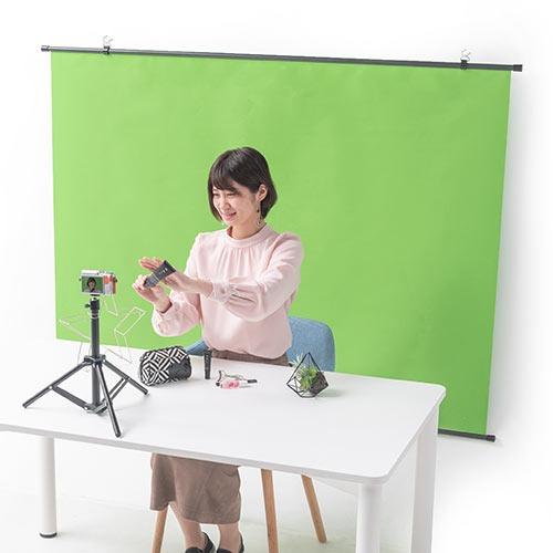 グリーンバックのおすすめ9選。撮影やWeb会議の背景に便利なアイテム
