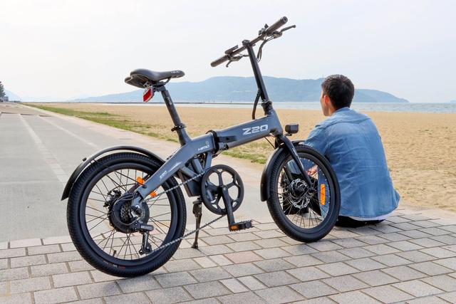 タフなのにスタイリッシュ!電動アシスト自転車「HIMO Z20」