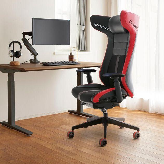 【7/31まで】快適な座り心地を求める方へ。高品質クッション搭載のゲーミングチェア「STRIKER」